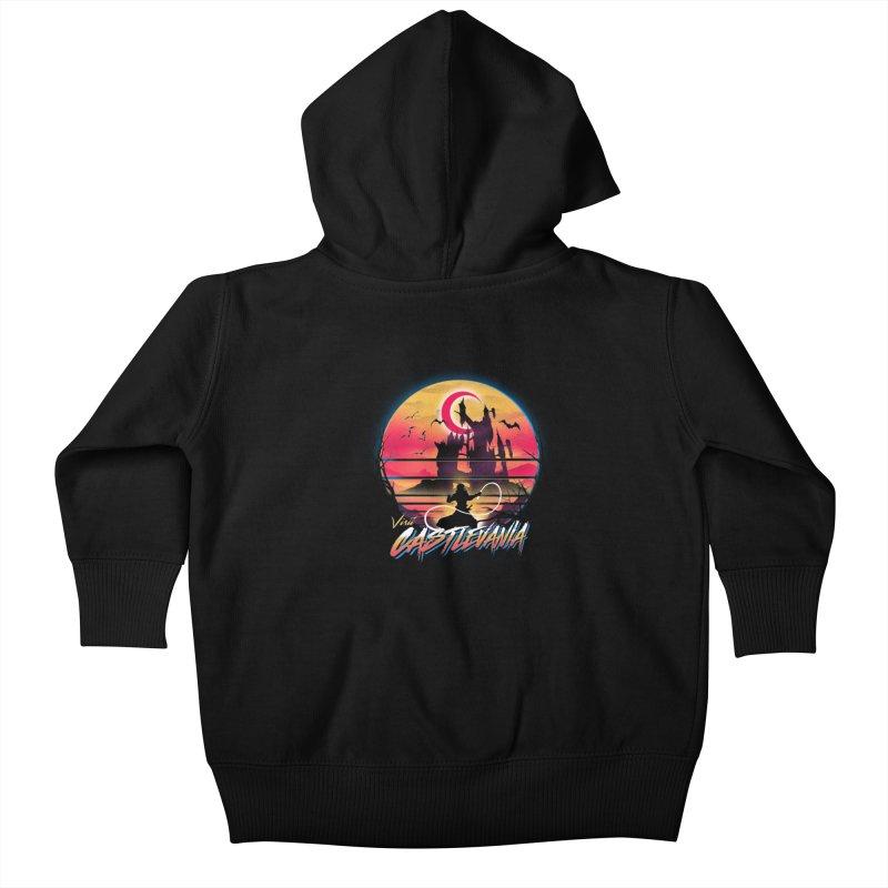 Visit Castlevania Kids Baby Zip-Up Hoody by dandingeroz's Artist Shop