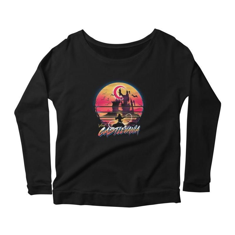 Visit Castlevania Women's Scoop Neck Longsleeve T-Shirt by dandingeroz's Artist Shop