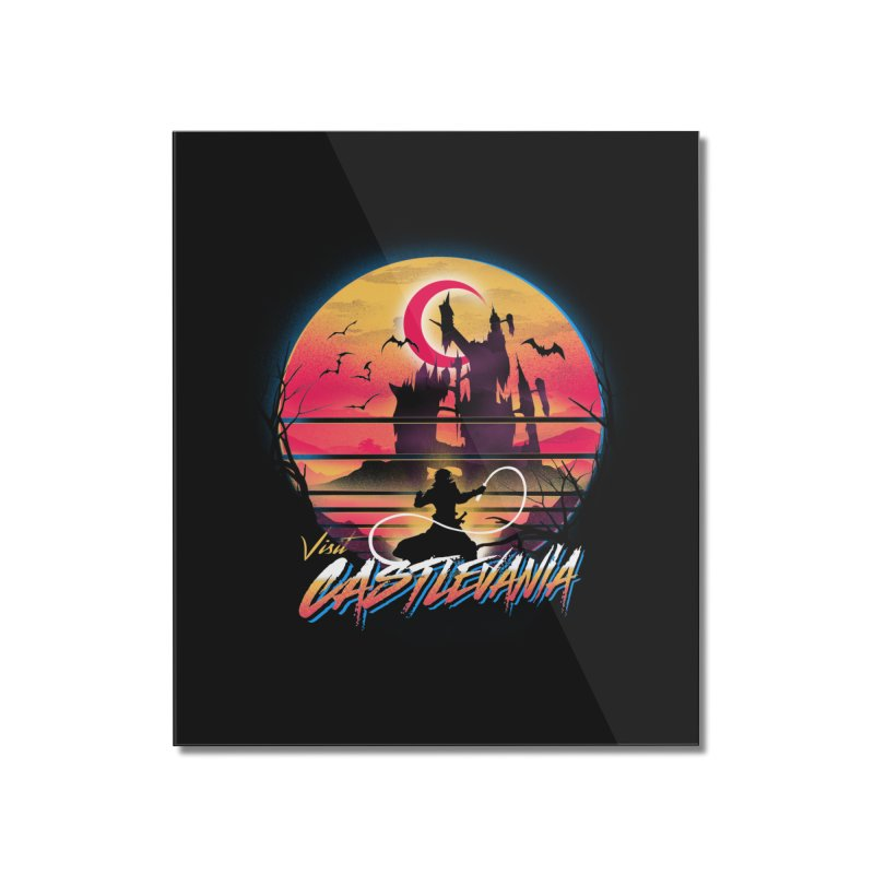 Visit Castlevania Home Mounted Acrylic Print by dandingeroz's Artist Shop