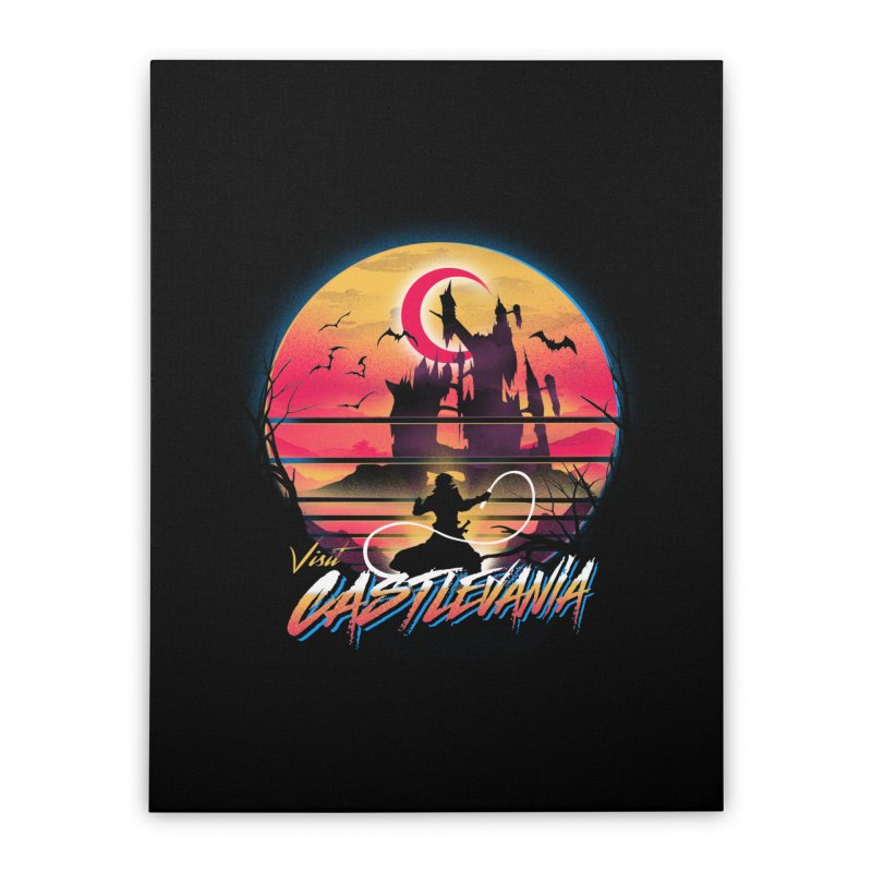 Visit Castlevania Home Stretched Canvas by dandingeroz's Artist Shop