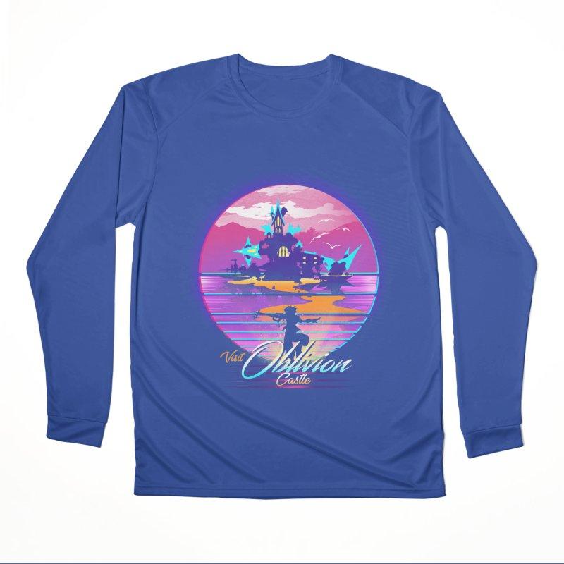 Visit Castle Oblivion Men's Performance Longsleeve T-Shirt by dandingeroz's Artist Shop
