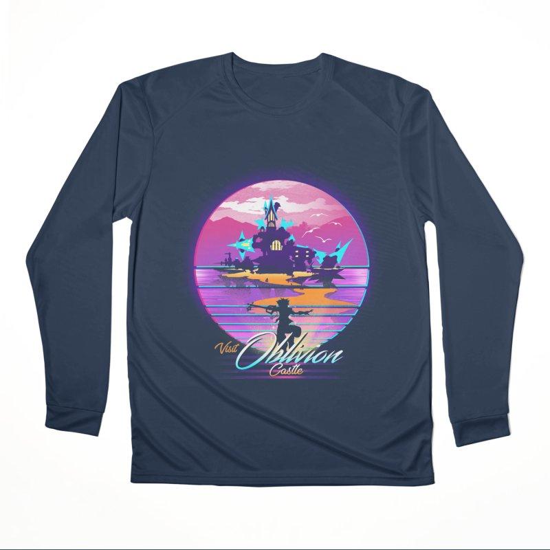 Visit Castle Oblivion Women's Performance Unisex Longsleeve T-Shirt by dandingeroz's Artist Shop