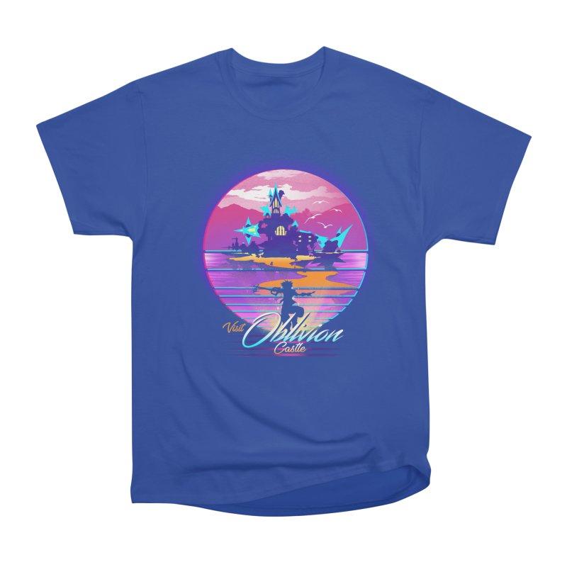Visit Castle Oblivion Men's Heavyweight T-Shirt by dandingeroz's Artist Shop