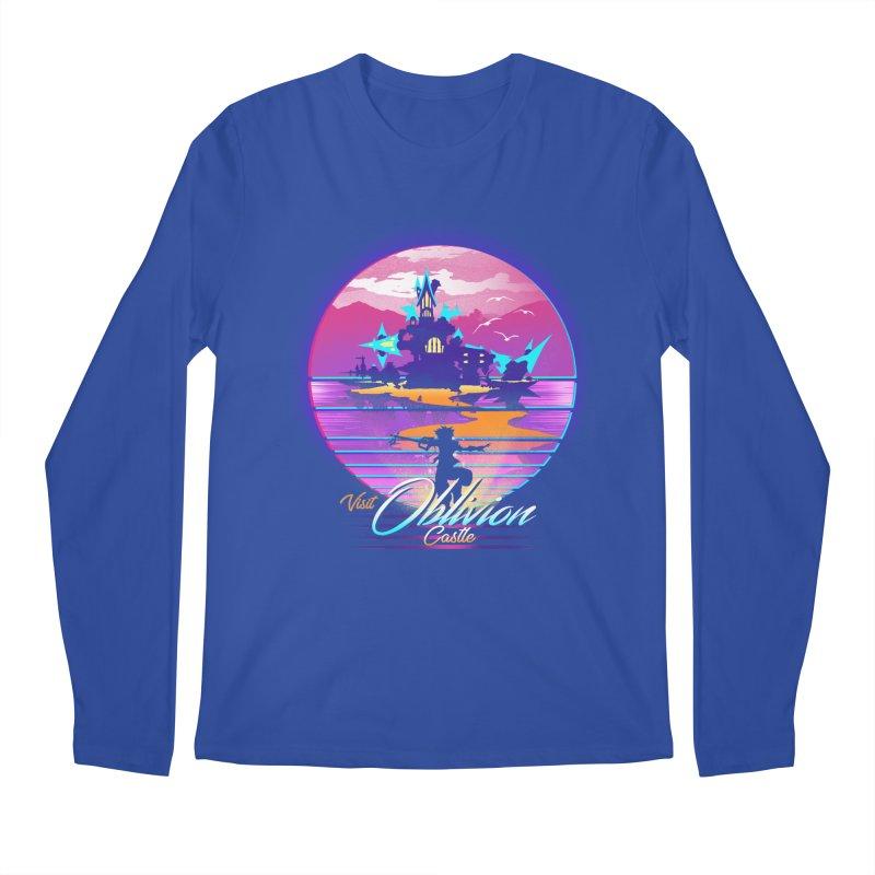 Visit Castle Oblivion Men's Regular Longsleeve T-Shirt by dandingeroz's Artist Shop