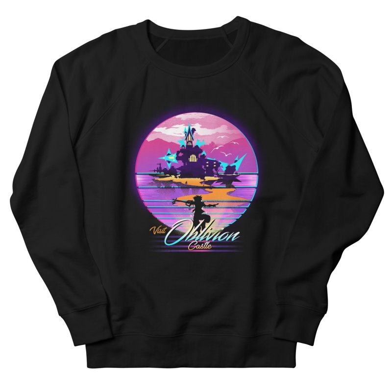 Visit Castle Oblivion Men's French Terry Sweatshirt by dandingeroz's Artist Shop
