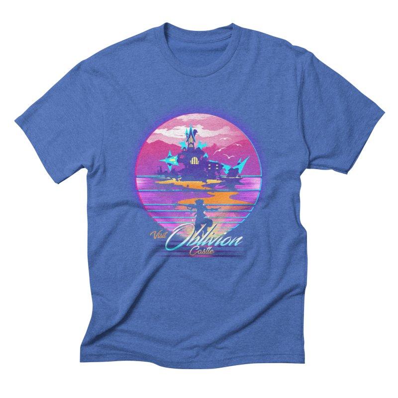 Visit Castle Oblivion Men's Triblend T-Shirt by dandingeroz's Artist Shop