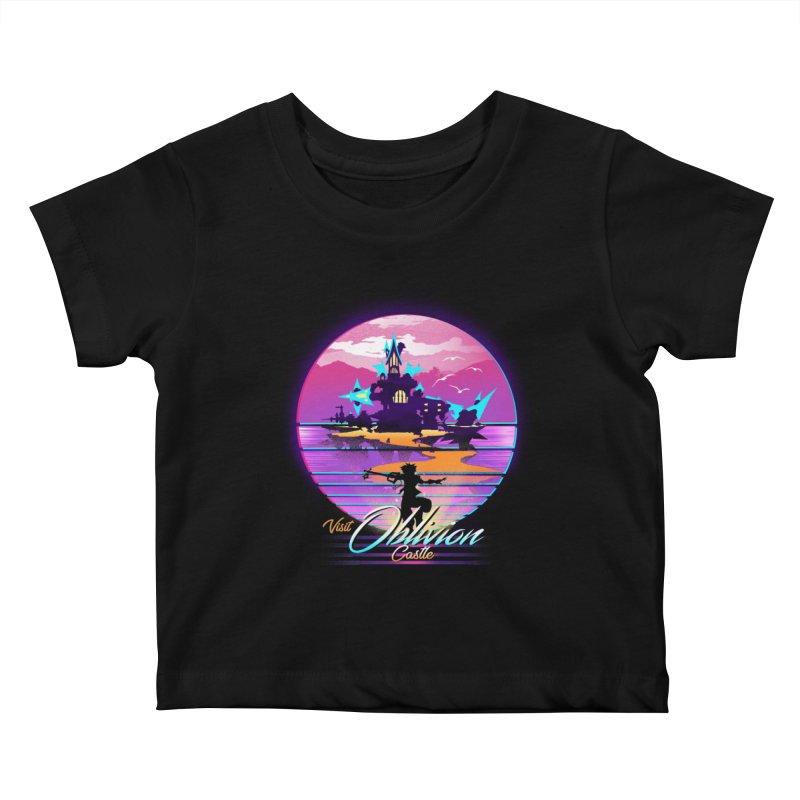 Visit Castle Oblivion Kids Baby T-Shirt by dandingeroz's Artist Shop