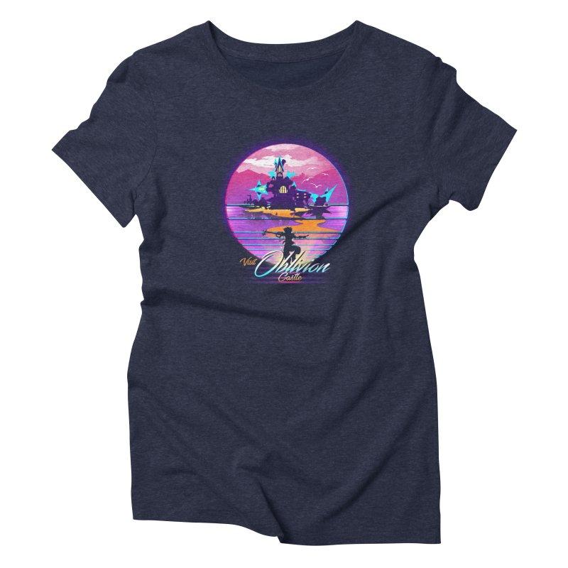 Visit Castle Oblivion Women's Triblend T-Shirt by dandingeroz's Artist Shop