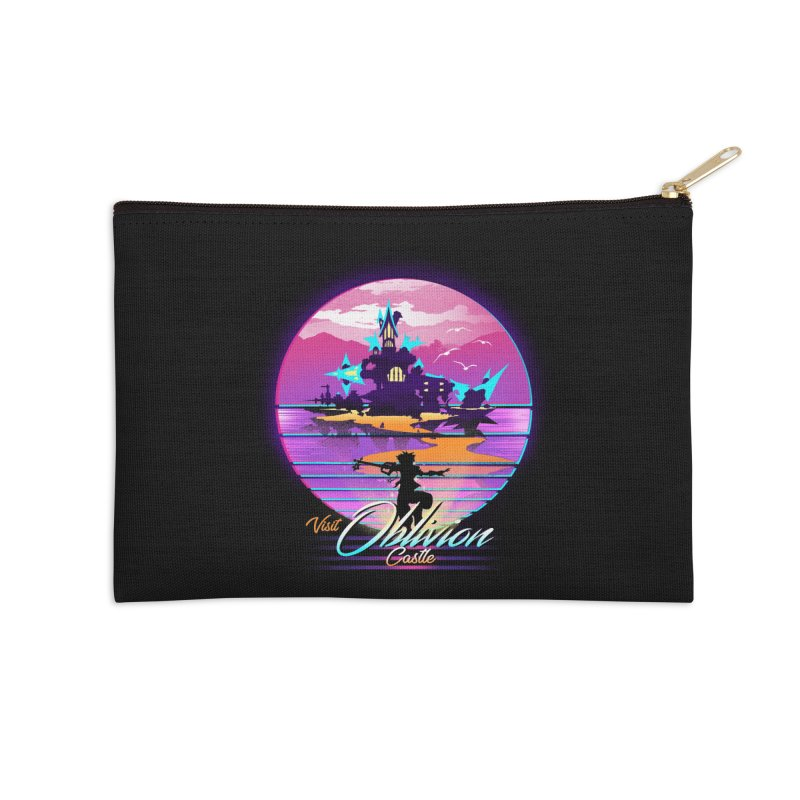 Visit Castle Oblivion Accessories Zip Pouch by dandingeroz's Artist Shop