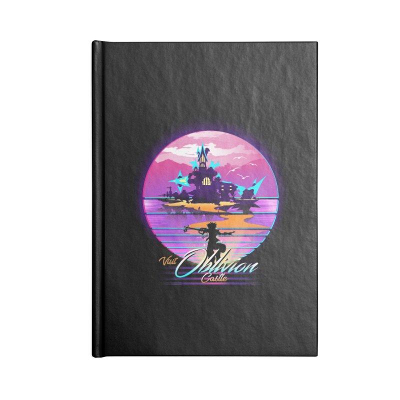 Visit Castle Oblivion Accessories Lined Journal Notebook by dandingeroz's Artist Shop