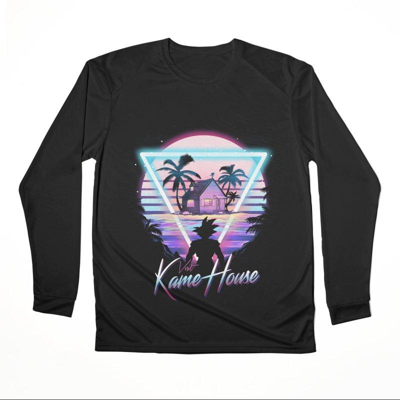 Visit Kame House Men's Performance Longsleeve T-Shirt by dandingeroz's Artist Shop
