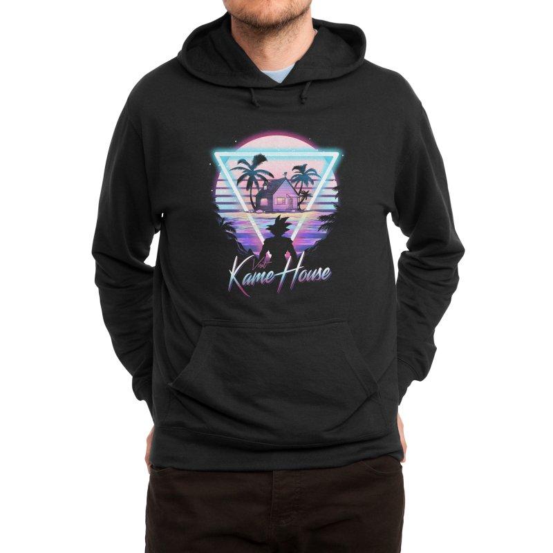 Visit Kame House Men's Pullover Hoody by dandingeroz's Artist Shop
