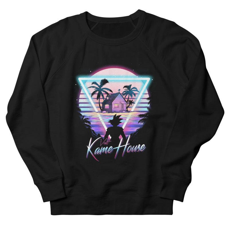 Visit Kame House Women's French Terry Sweatshirt by dandingeroz's Artist Shop