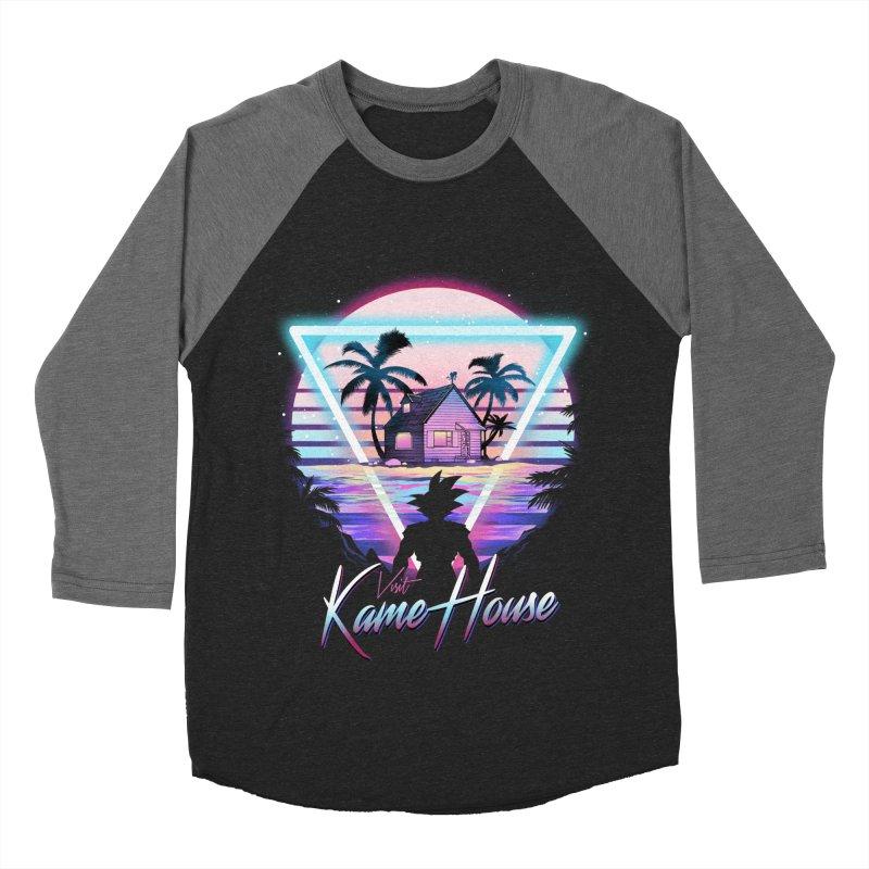 Visit Kame House Women's Baseball Triblend Longsleeve T-Shirt by dandingeroz's Artist Shop