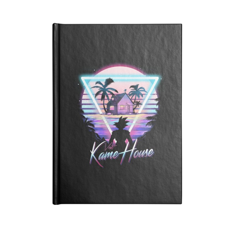 Visit Kame House Accessories Blank Journal Notebook by dandingeroz's Artist Shop