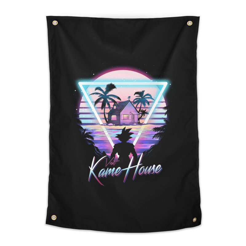 Visit Kame House Home Tapestry by dandingeroz's Artist Shop