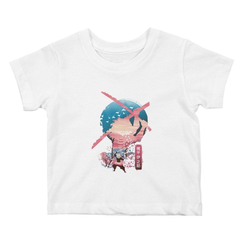 Ukiyo e Breath of the Beast Kids Baby T-Shirt by dandingeroz's Artist Shop