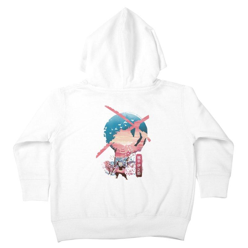 Ukiyo e Breath of the Beast Kids Toddler Zip-Up Hoody by dandingeroz's Artist Shop