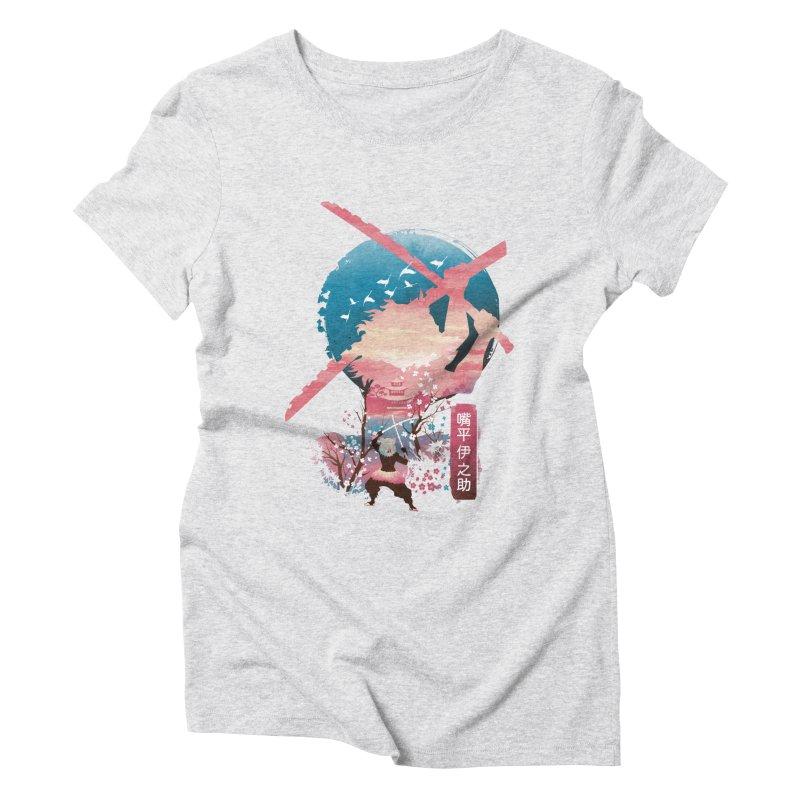 Ukiyo e Breath of the Beast Women's Triblend T-Shirt by dandingeroz's Artist Shop