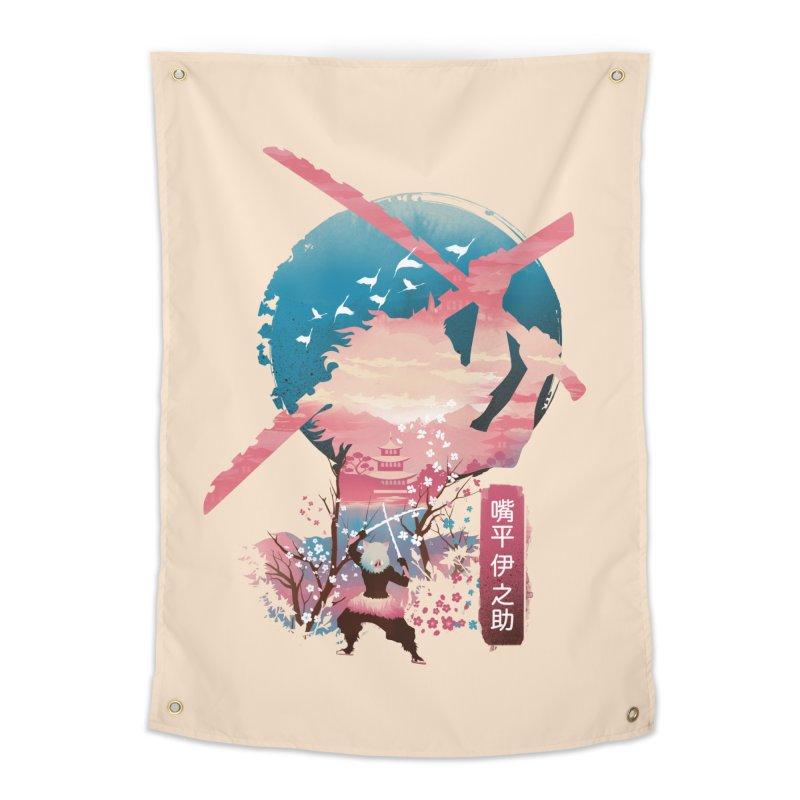Ukiyo e Breath of the Beast Home Tapestry by dandingeroz's Artist Shop