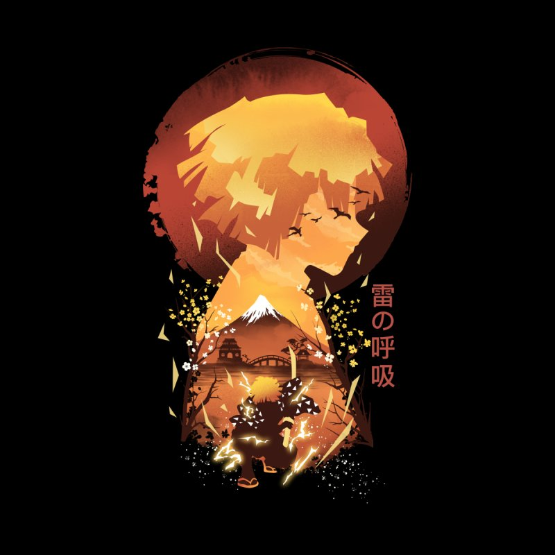 Ukiyo e Breath of Thunder by dandingeroz's Artist Shop