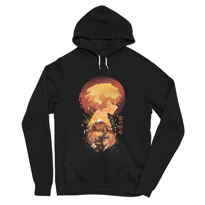 Ukiyo e Breath of Thunder Women's Pullover Hoody by dandingeroz's Artist Shop