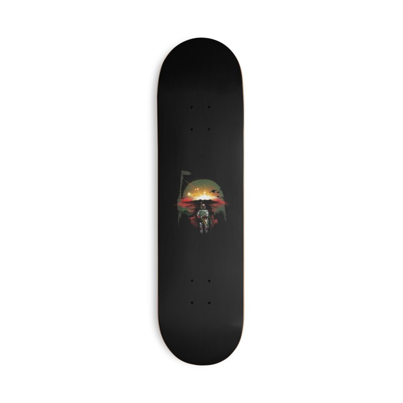 Bounty Hunter Accessories Deck Only Skateboard by dandingeroz's Artist Shop