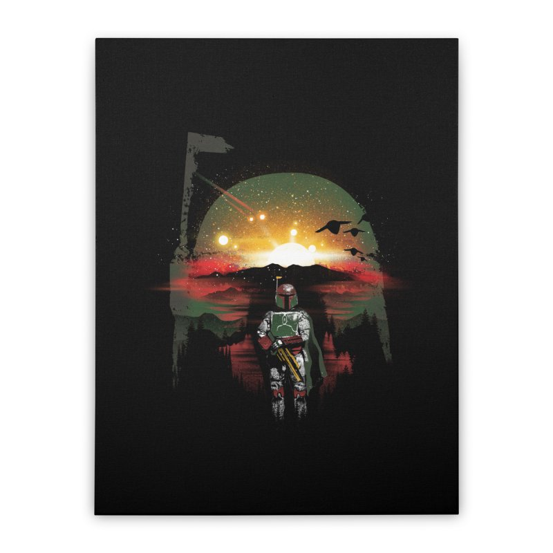 Bounty Hunter Home Stretched Canvas by dandingeroz's Artist Shop