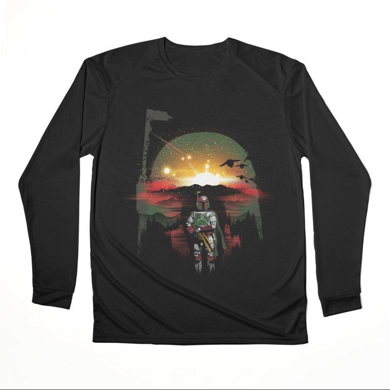 Bounty Hunter Men's Performance Longsleeve T-Shirt by dandingeroz's Artist Shop
