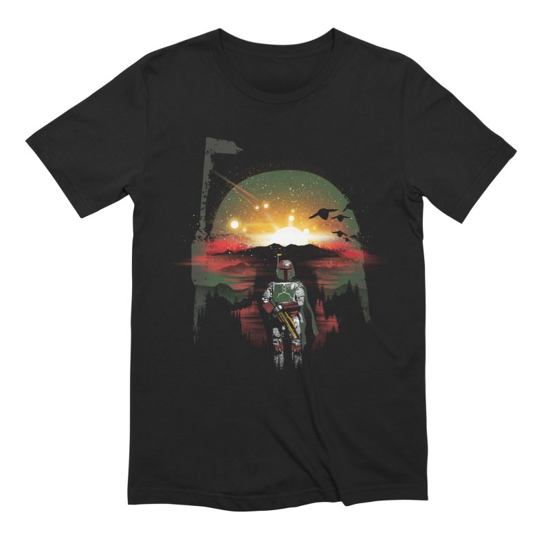 Bounty Hunter Men's Extra Soft T-Shirt by dandingeroz's Artist Shop