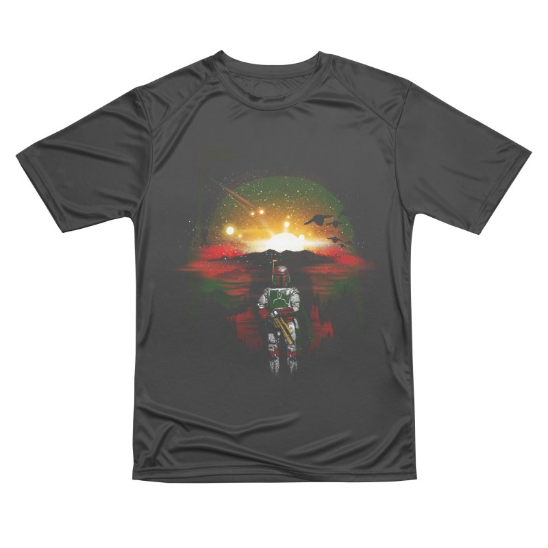 Bounty Hunter Men's Performance T-Shirt by dandingeroz's Artist Shop