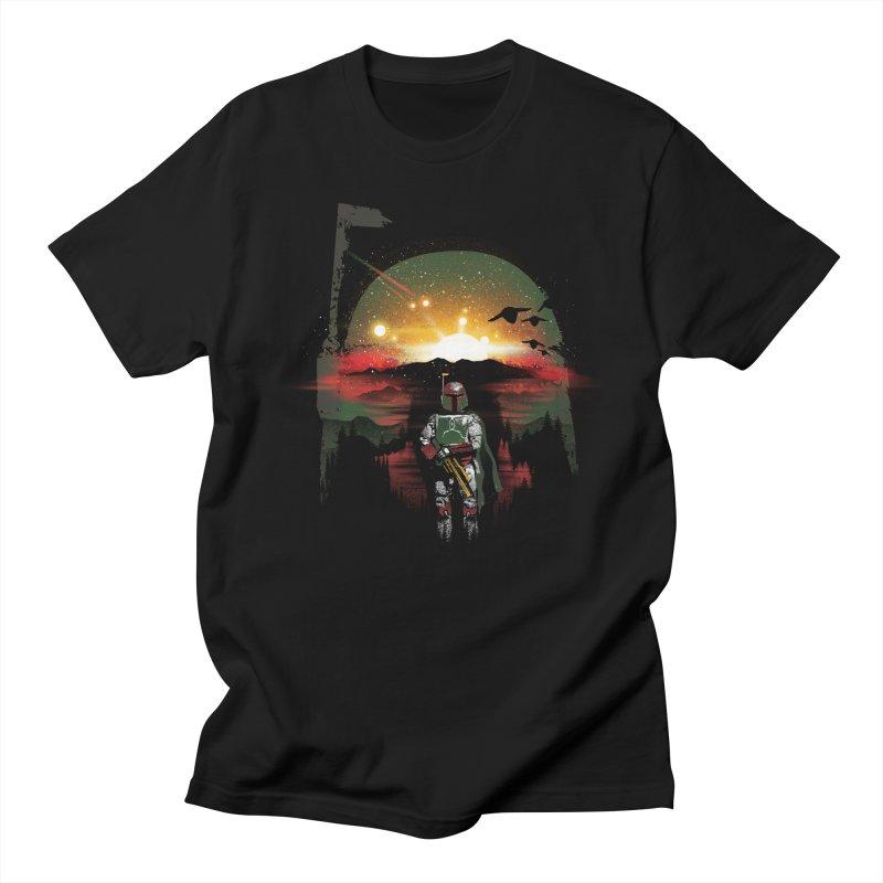 Bounty Hunter Women's Regular Unisex T-Shirt by dandingeroz's Artist Shop