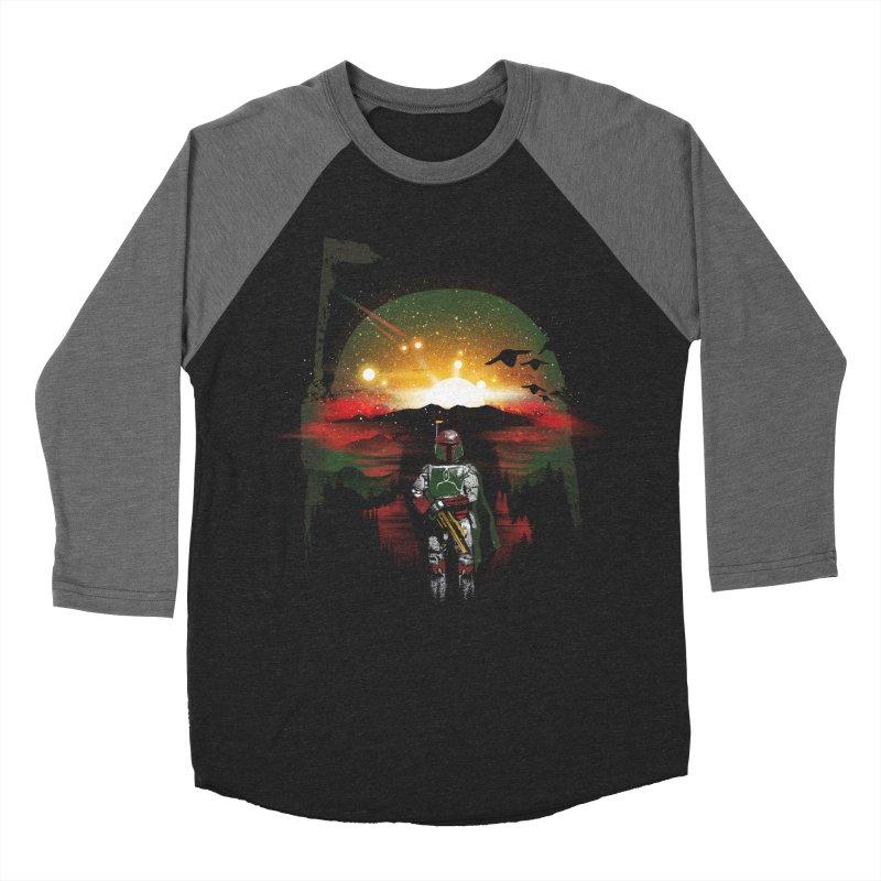 Bounty Hunter Women's Baseball Triblend Longsleeve T-Shirt by dandingeroz's Artist Shop