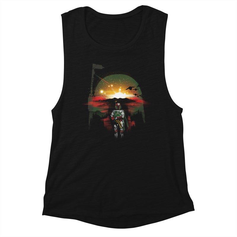 Bounty Hunter Women's Muscle Tank by dandingeroz's Artist Shop