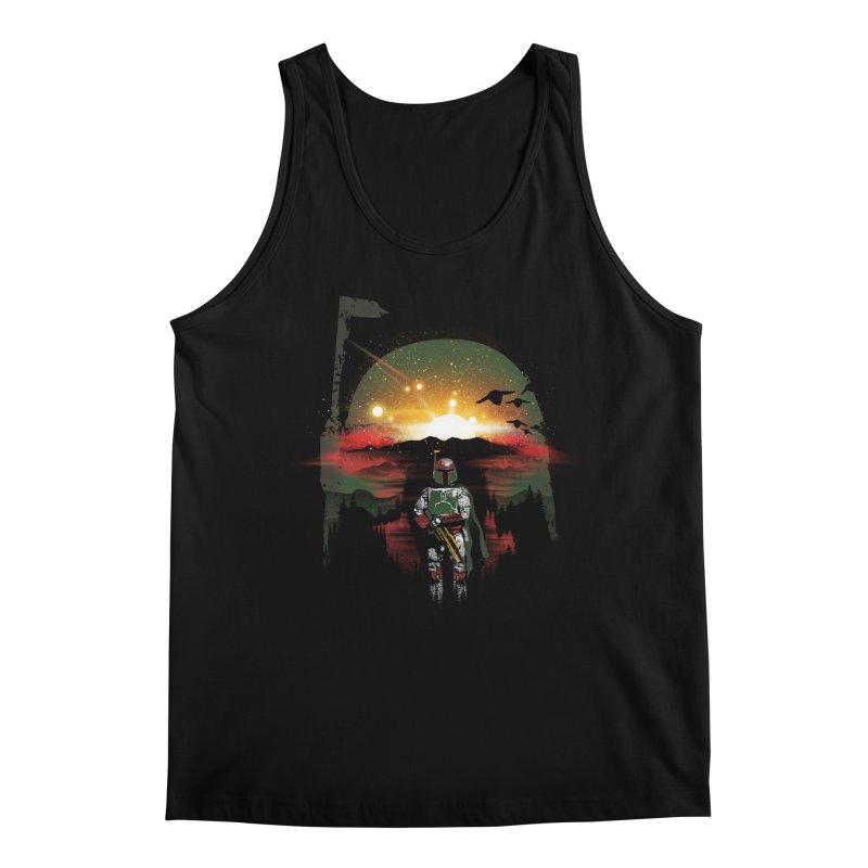 Bounty Hunter Men's Regular Tank by dandingeroz's Artist Shop