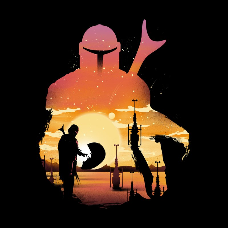 Mando Sunset Men's T-Shirt by dandingeroz's Artist Shop