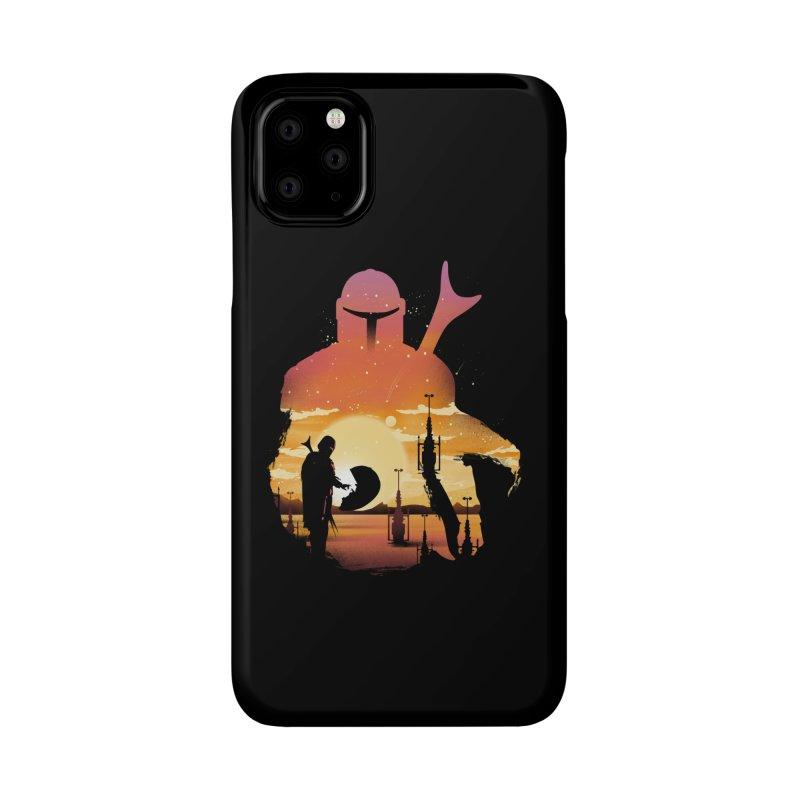 Mando Sunset Accessories Phone Case by dandingeroz's Artist Shop
