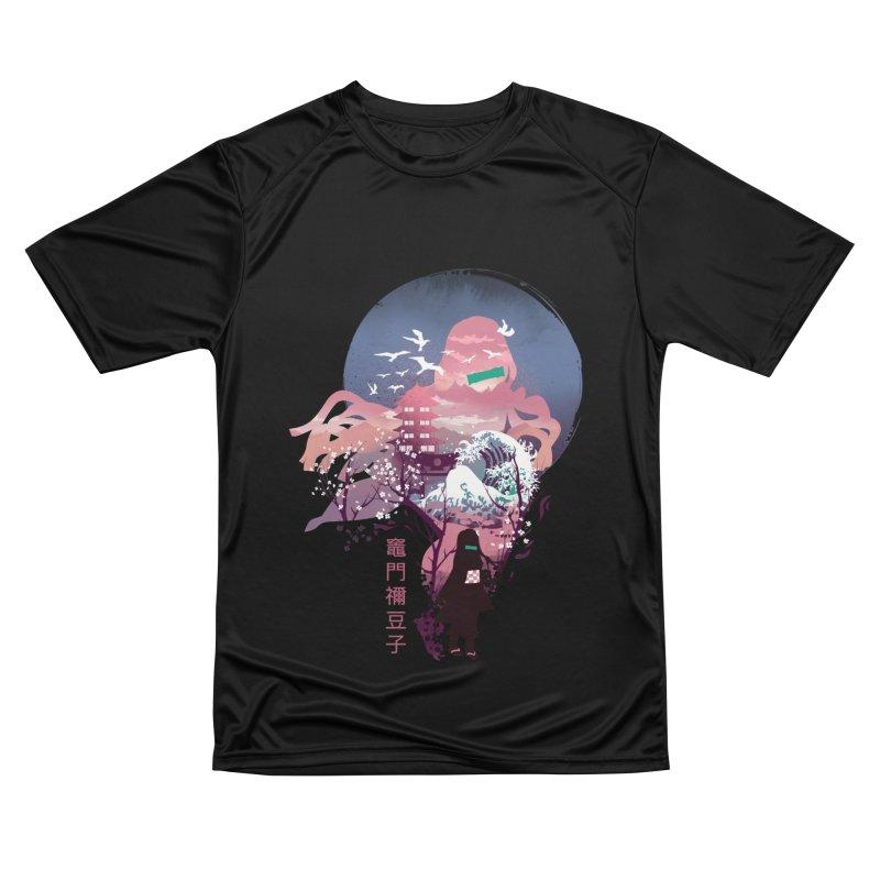 Ukiyo e Nezuko Men's Performance T-Shirt by dandingeroz's Artist Shop