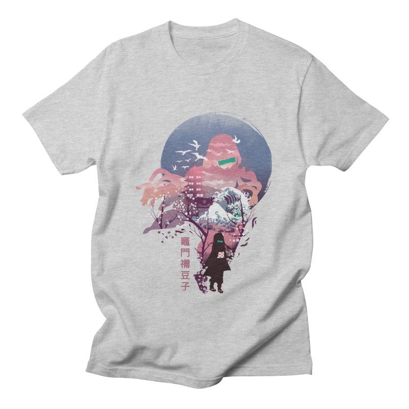 Ukiyo e Nezuko Women's Regular Unisex T-Shirt by dandingeroz's Artist Shop