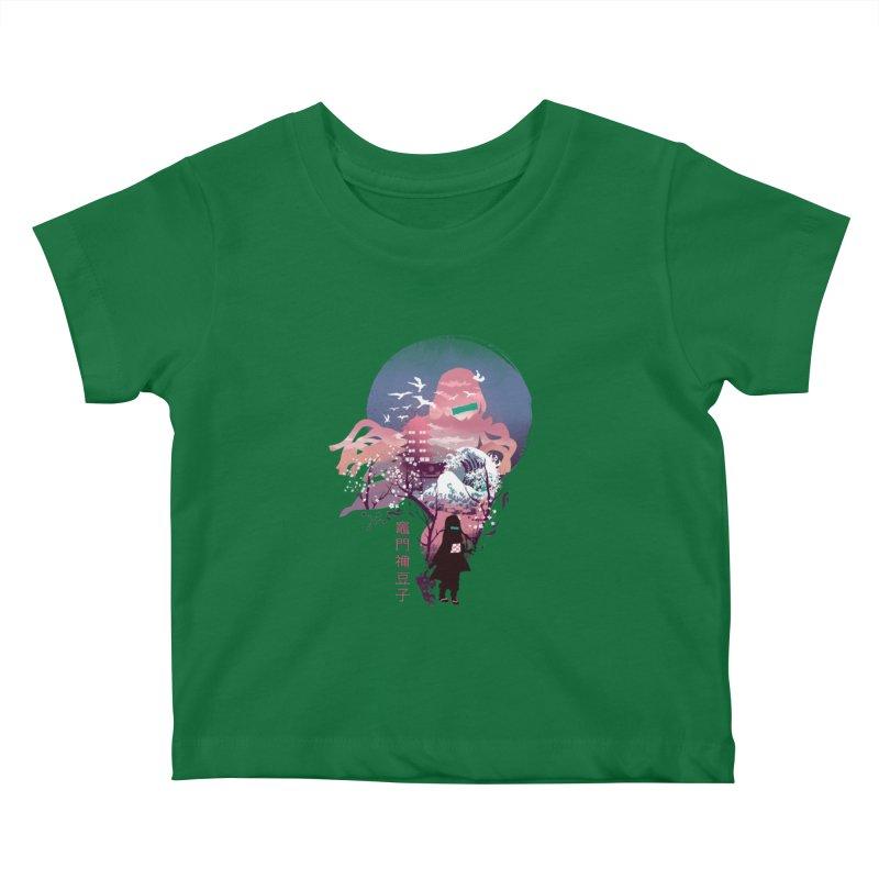 Ukiyo e Nezuko Kids Baby T-Shirt by dandingeroz's Artist Shop