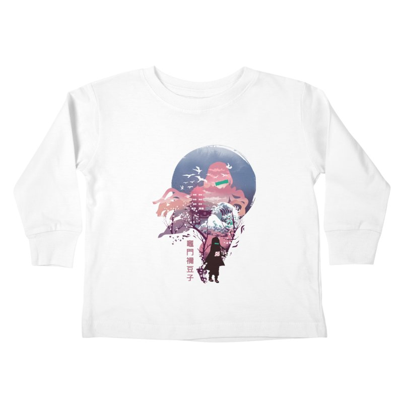 Ukiyo e Nezuko Kids Toddler Longsleeve T-Shirt by dandingeroz's Artist Shop