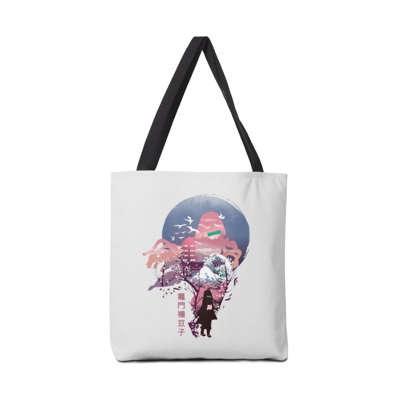 Ukiyo e Nezuko Accessories Tote Bag Bag by dandingeroz's Artist Shop
