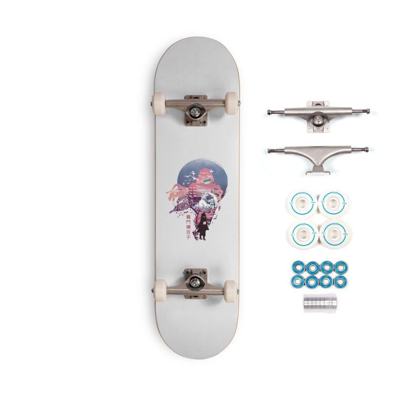 Ukiyo e Nezuko Accessories Complete - Basic Skateboard by dandingeroz's Artist Shop