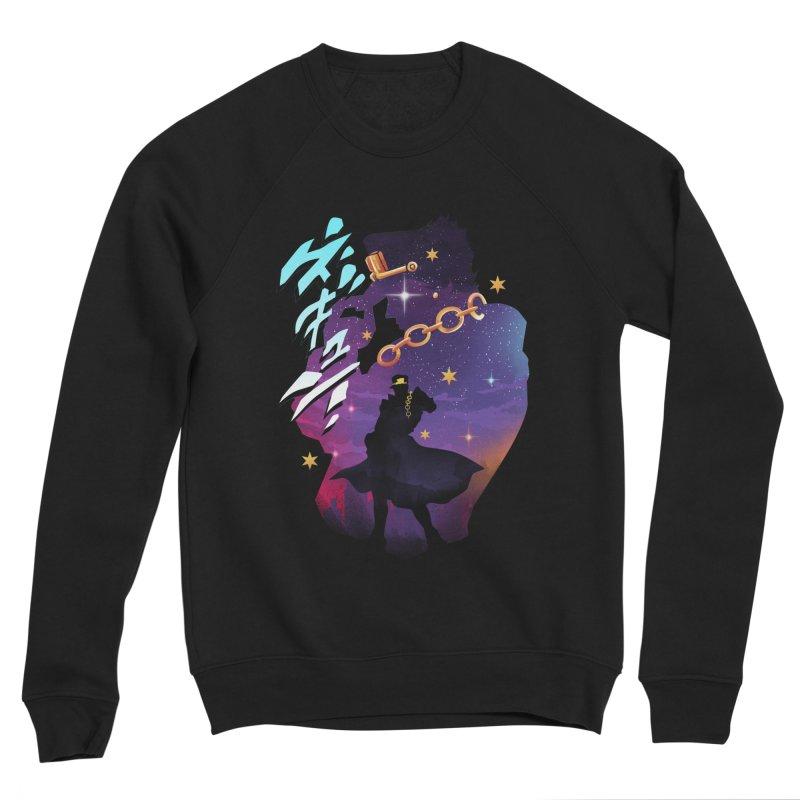 Jotaro Star Adventure Women's Sponge Fleece Sweatshirt by dandingeroz's Artist Shop