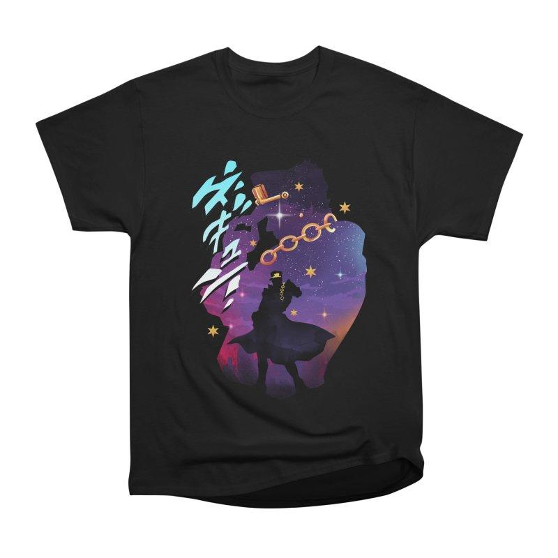 Jotaro Star Adventure Women's Heavyweight Unisex T-Shirt by dandingeroz's Artist Shop