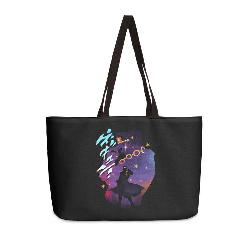 Jotaro Star Adventure Accessories Weekender Bag Bag by dandingeroz's Artist Shop