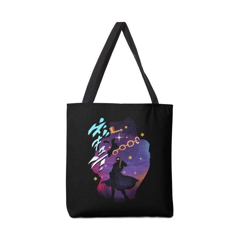 Jotaro Star Adventure Accessories Tote Bag Bag by dandingeroz's Artist Shop