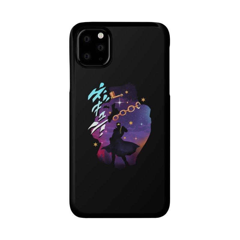 Jotaro Star Adventure Accessories Phone Case by dandingeroz's Artist Shop