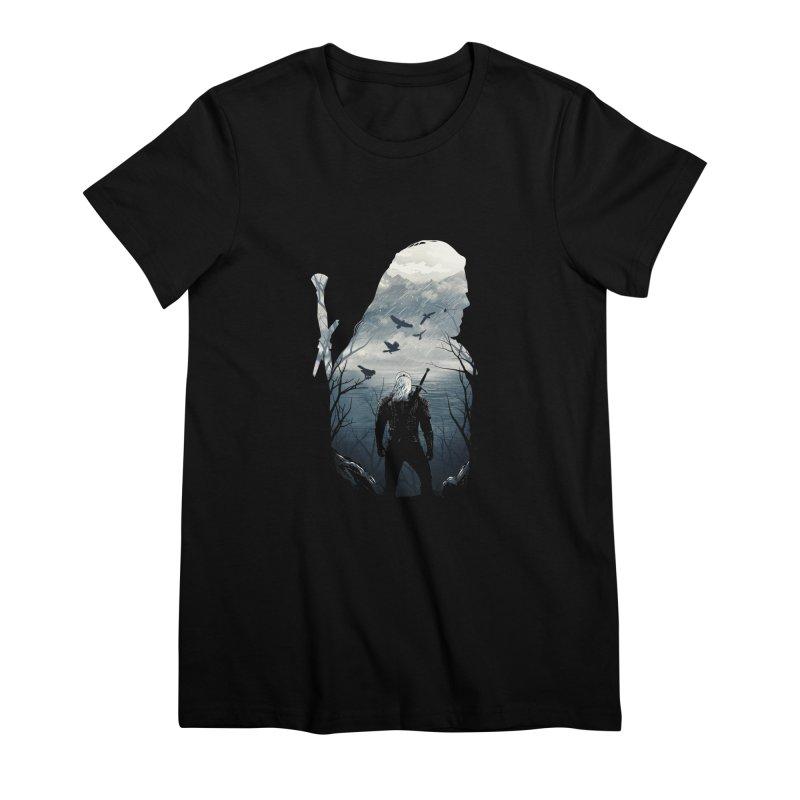Wild Hunt Women's Premium T-Shirt by dandingeroz's Artist Shop