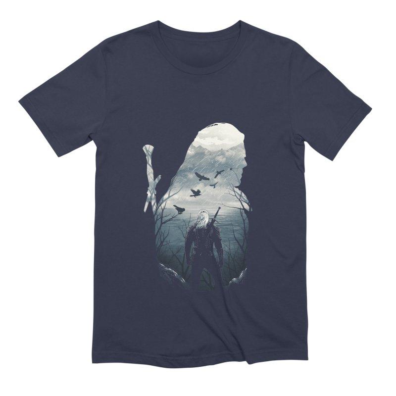 Wild Hunt Men's Extra Soft T-Shirt by dandingeroz's Artist Shop